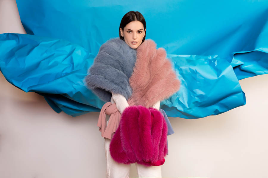 L403 01 giovi accessories fur - Fall Winter 2019-20