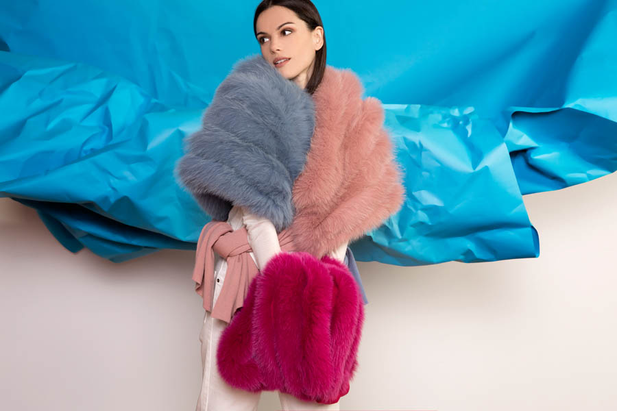 L403 02 giovi accessories fur - Fall Winter 2019-20