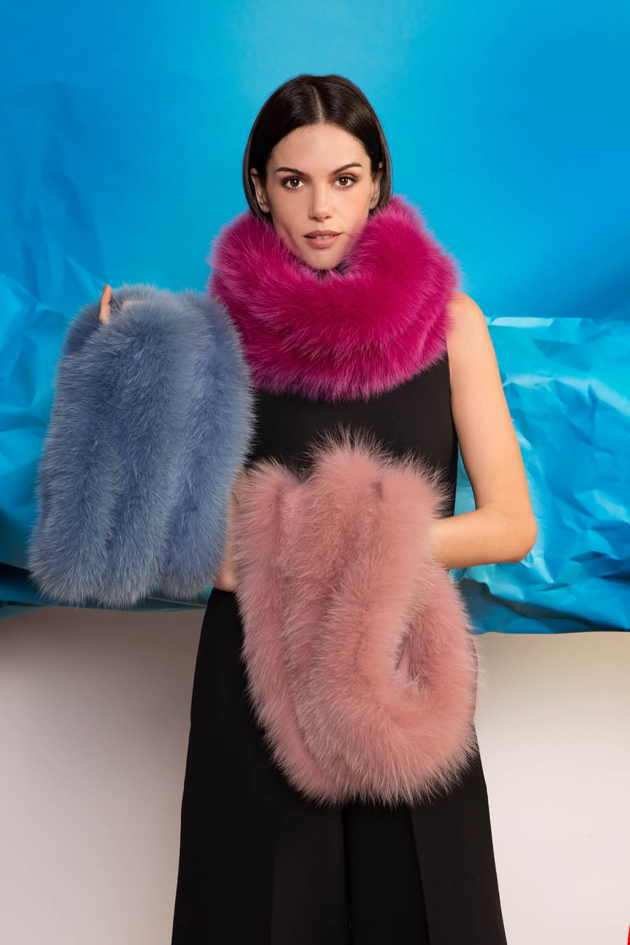 L422 01 giovi accessories fur - Fall Winter 2019-20