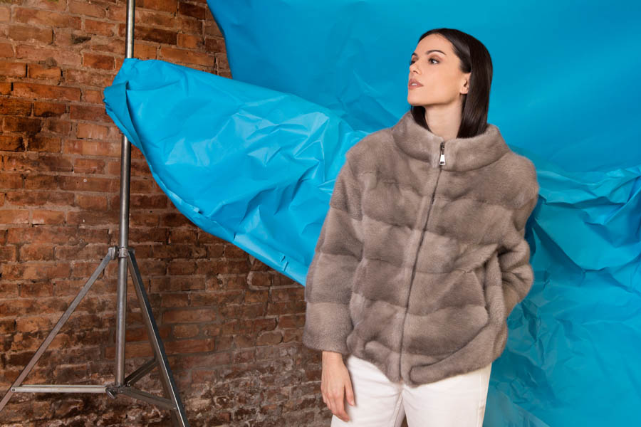 06 P1903V 03 01 giovi pelliccia fur brown - Fall Winter 2019-20