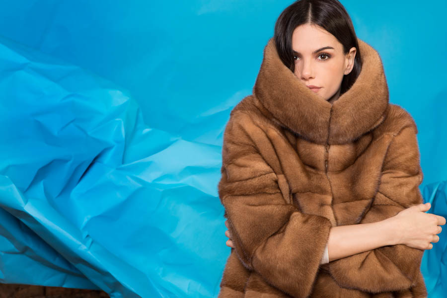 08 P1904V 95 02 giovi pelliccia fur brown - Fall Winter 2019-20
