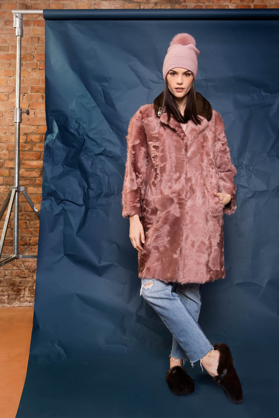 15 P1905T 10 02 giovi pelliccia fur pink - Fall Winter 2019-20