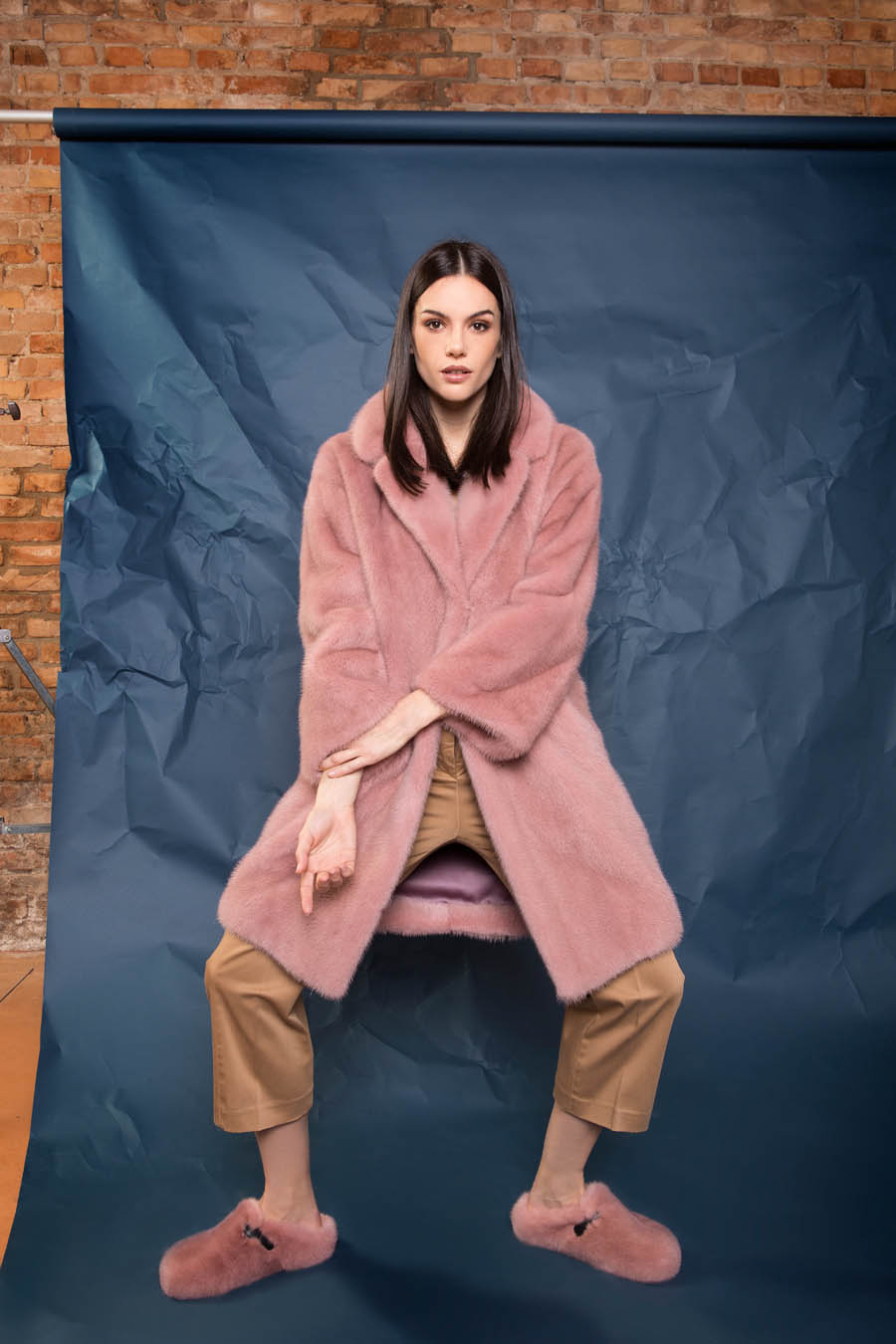 23 P1905V 10 01 giovi pelliccia fur pink - Fall Winter 2019-20