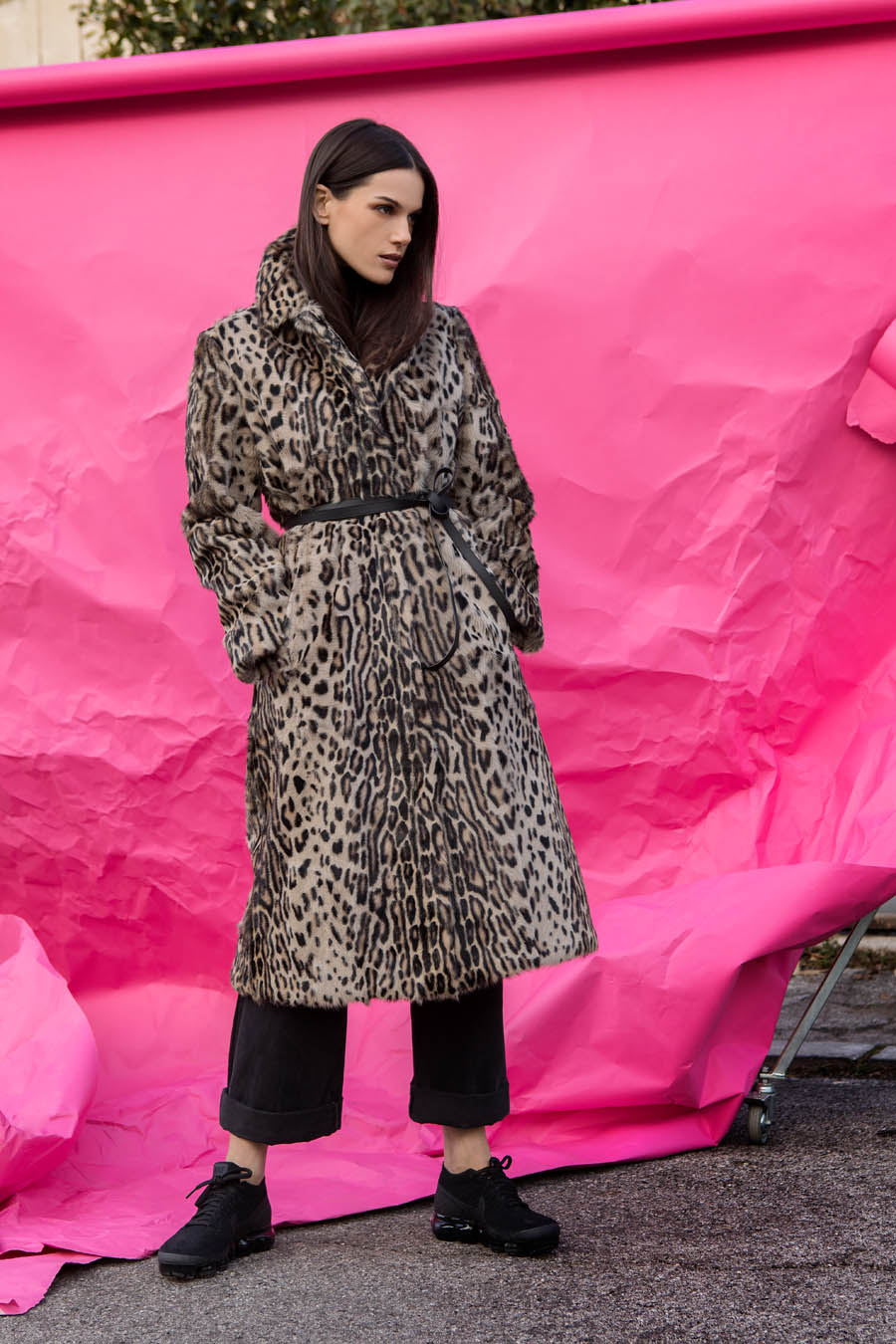 29 P1907K 11 01 giovi pelliccia fur leopard - Fall Winter 2019-20