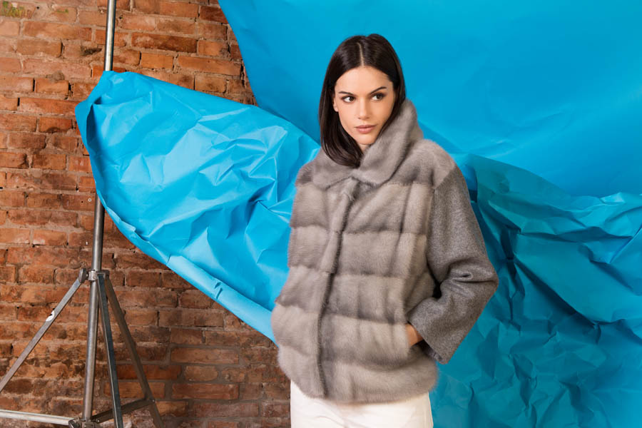 50 P1914V 03 02 giovi pelliccia fur grey - Fall Winter 2019-20