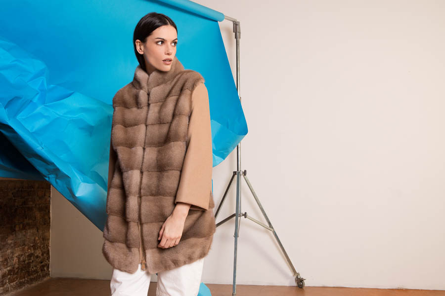 51 P1915V 04 02 giovi pelliccia fur brown - Fall Winter 2019-20