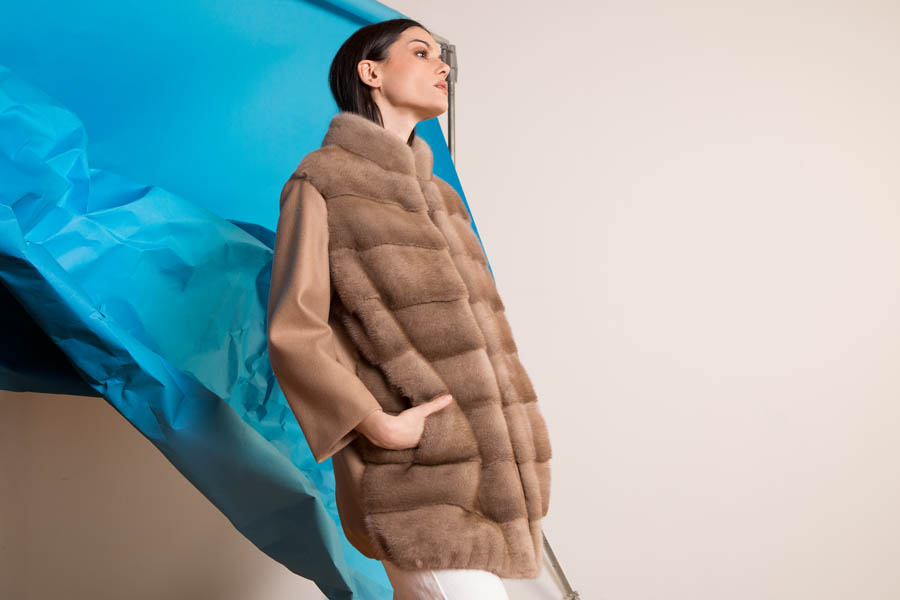 52 P1915V 04 01 giovi pelliccia fur brown - Fall Winter 2019-20