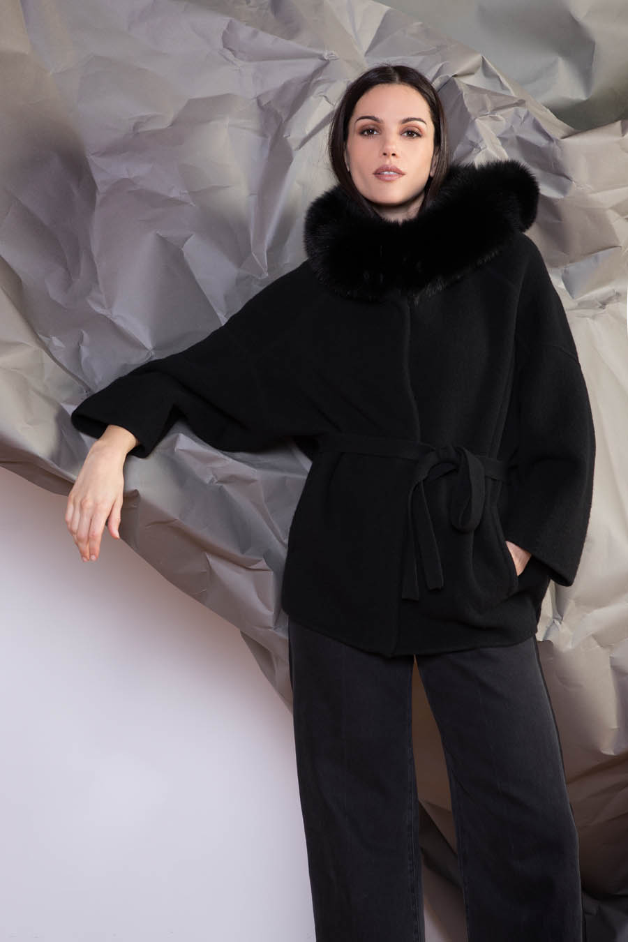64 P1919 99 02 giovi pelliccia fur black - Fall Winter 2019-20