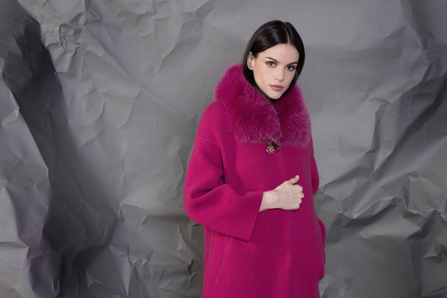 69 P1921 86 02 giovi pelliccia fur magenta - Fall Winter 2019-20
