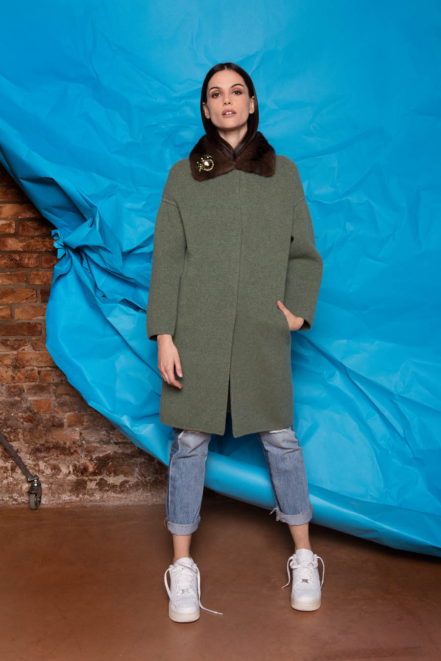 70 P1921 88 01 giovi pelliccia fur green - Fall Winter 2019-20