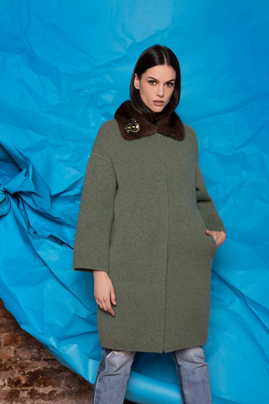 71 P1921 88 02 giovi pelliccia fur green - Fall Winter 2019-20