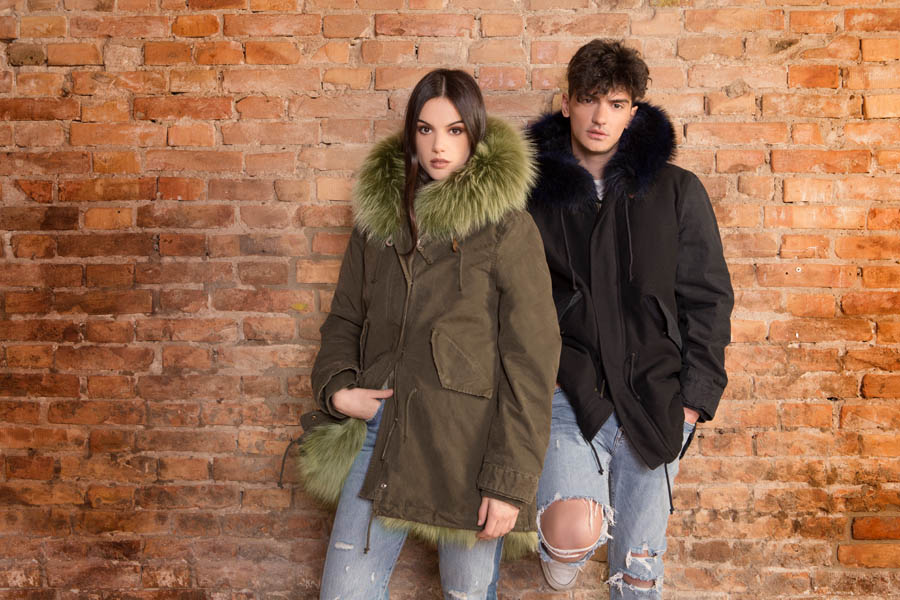 PK19303VO 01 gold rush man woman parka fur - Fall Winter 2019-20
